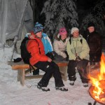 Snowshoe Campfire Cookout & S'mores